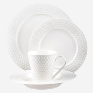 16-Piece Set Porcelain Dinnerware - Chailles Collection