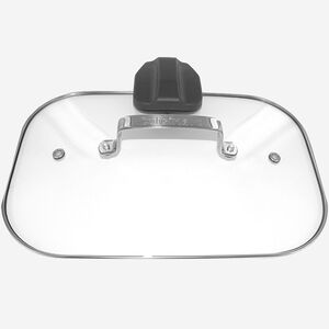 Glass lid with Stainless Steel rim