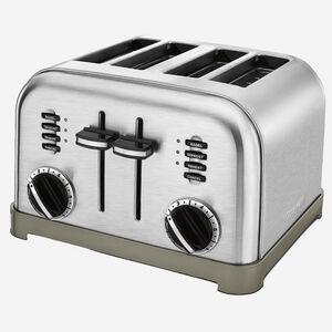 Grille-pain Métal classique 4-tranches