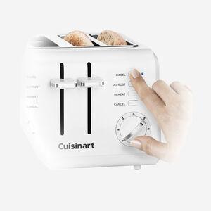 Grille-pain compact à 4 tranches