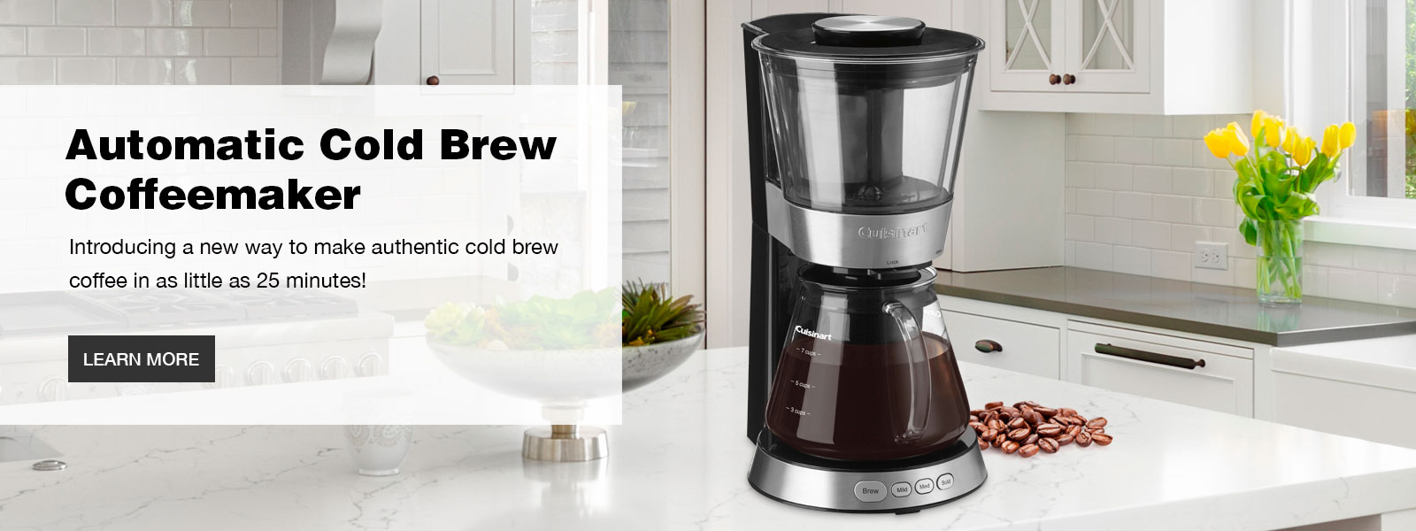 7-Cup Automatic Cold Brew Coffeemaker