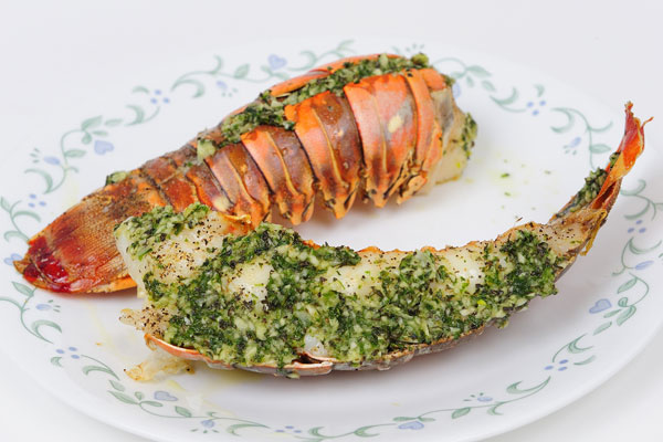 Butter Broiled Lobster