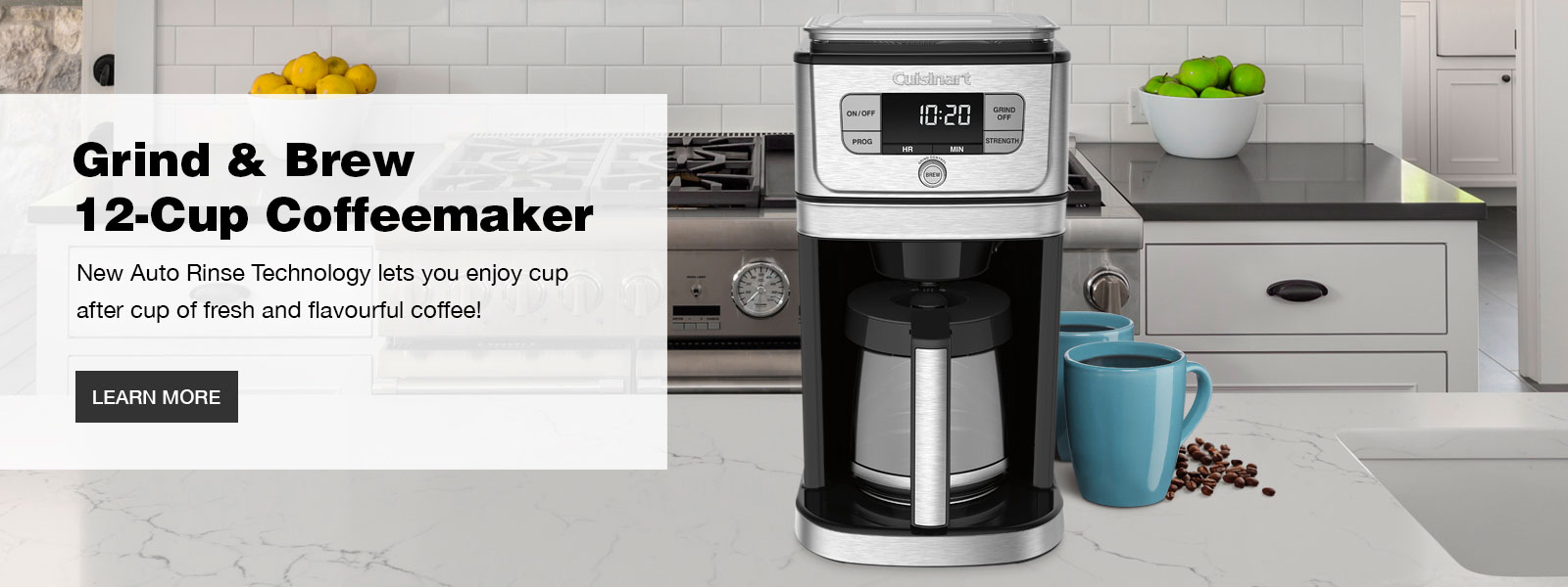 Burr Grind and Brew 12-Cup Coffeemaker