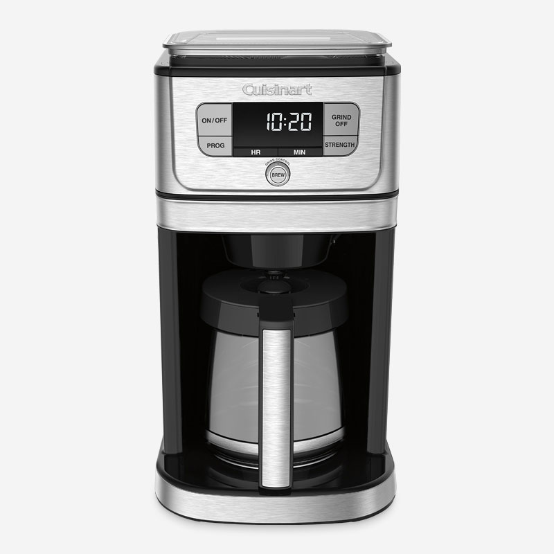 cafeti re enti rement automatique 12 tasses moulin int gr burr grind brewmc ca cuisinart. Black Bedroom Furniture Sets. Home Design Ideas
