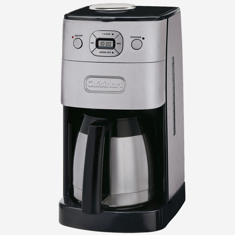 cafeti re automatique moulin int gr avec verseuse isolante de 10 tasses grind and brew. Black Bedroom Furniture Sets. Home Design Ideas