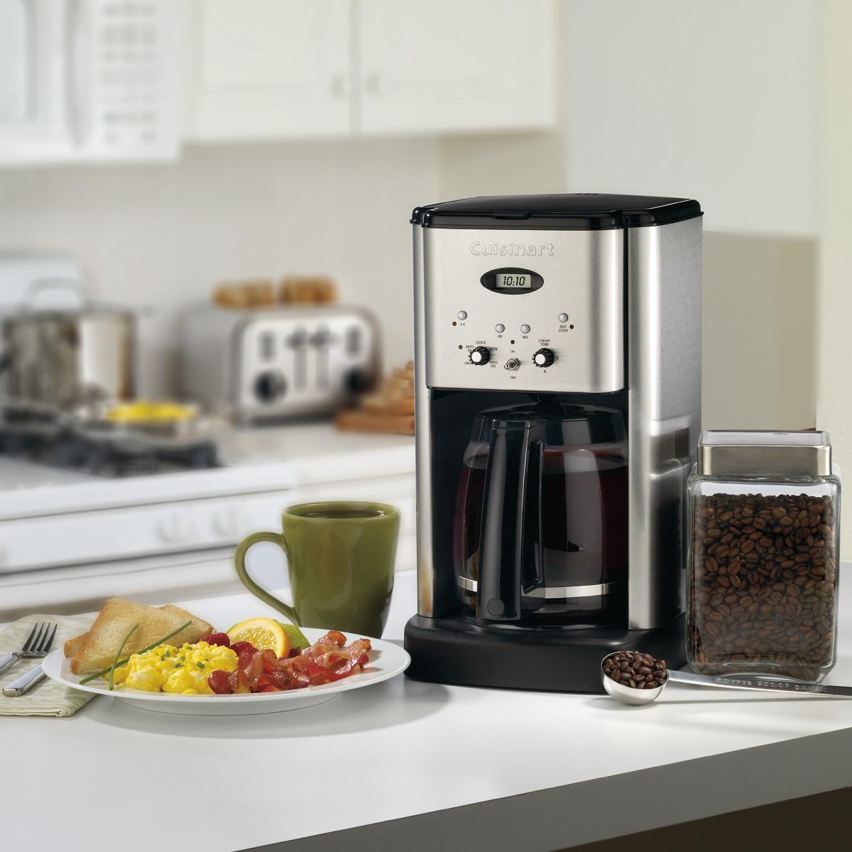 cafeti re programmable brew central de 12 tasses cuisinart. Black Bedroom Furniture Sets. Home Design Ideas