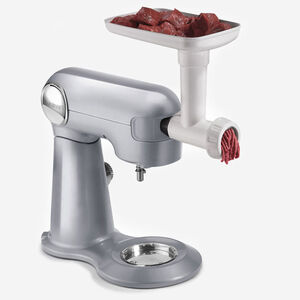 Meat Grinder Attachment with Sausage Stuffer Kit