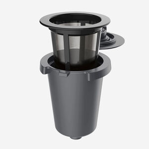 Reusable Filter Holder with Reusable Coffee Filter