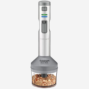 Smart Stick® Variable Speed Cordless Rechargeable Hand Blender with Electric Knife