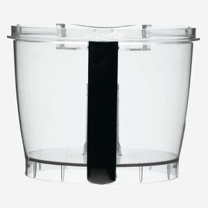bol avec poignée noir