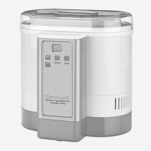 Electronic Yogurt Maker with Automatic Cooling