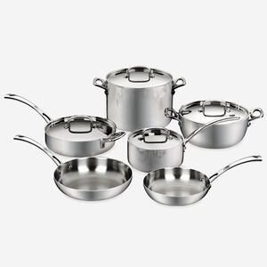 French Classic Tri-Ply Stainless 10 Pc. Set