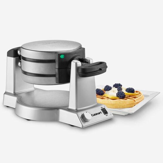 Double Waffle Maker w/Wisk