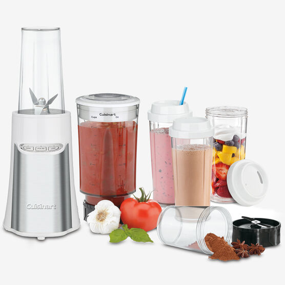 15-Pc. Compact Portable Blending/Chopping System