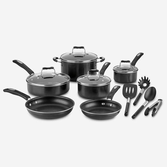 14 pc Aluminum Non-Stick Cookware Set