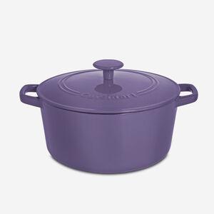 Casserole ronde de 5 pintes avec couvercle - Violet