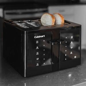 Grille-pain 4 tranches à écran tactile
