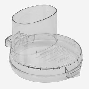 couvercle avec entonnoir surdimensionné gris pour modèles DLC-10SC,  DLC-10CC, EV-10C, DFP-7C, EV-7PC1C