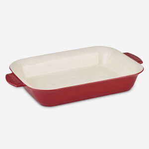 4 Qt. (3.8 L) Rectangular Baker - Red