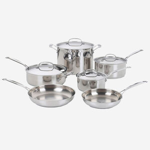 Classic Collection 10-Piece Stainless Cookware Set