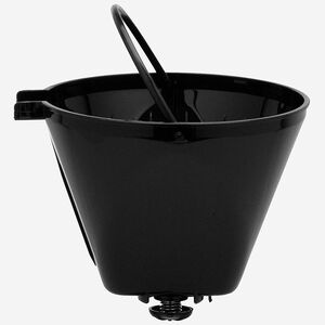 porte panier-filtre noir