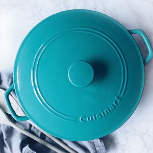 Casserole ronde de 7 pintes (6.6L) avec couvercle - Turquoise