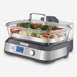 Cuit-vapeur numérique en verre Cook Fresh