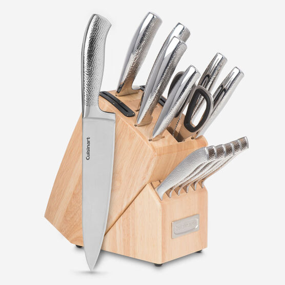 Classic 15-piece Stainless Steel Block Set
