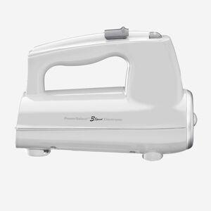 Batteur à main 3 vitesses - Blanc