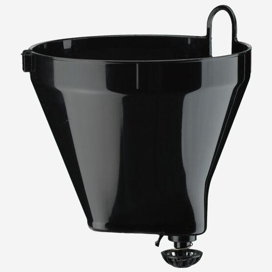 panier-filtre noir