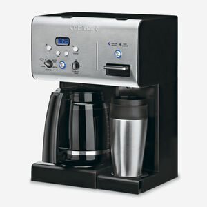 Coffee PLUS Cafetière programme de 12 tasses et distributeur de l'eau chaude