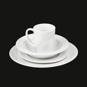 16 Piece Elite Porcelain Dinner Set