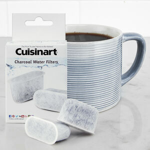 2-Pack Coffee Maker Charcoal Water Filter