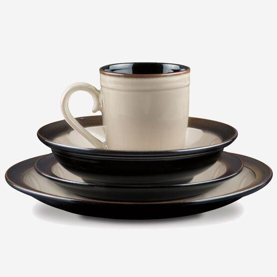 cuisinart classic vaisselle en gr s collection antica brown service de vaisselle 16 pi ces ca. Black Bedroom Furniture Sets. Home Design Ideas