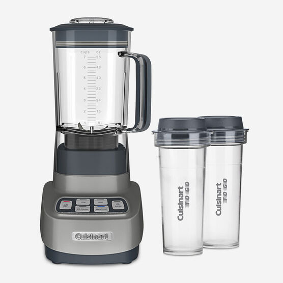 VELOCITY Ultra Trio 1.5L 750-Watt Blender with Travel Cups