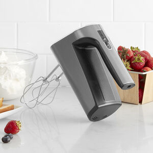 EvolutionX™ Cordless Rechargeable 5-Speed Hand Mixer