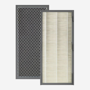 PuRXium Replacement 4-Sided, Folding Combination H13 High-Grade HEPA Filter & Active Carbon Filter