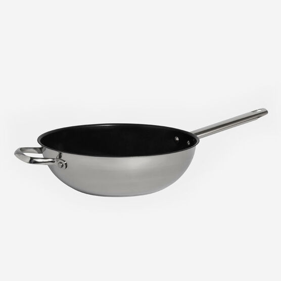 """Classic Stainless Collection non stick 11"""" (28 cm) wok"""