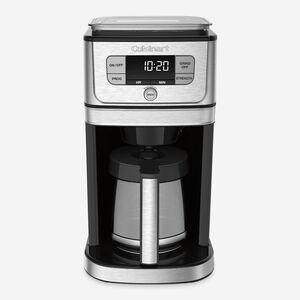 Cafetière entièrement automatique 12 tasses à moulin intégré burr grind & brewMC
