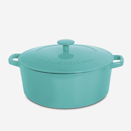 7 Qt. (6.6L) Round Casserole with Lid