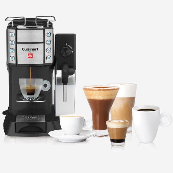 Buona Tazza Supercautomatic Single Serve Espresso, Caffé Latte, Cappuccino and Coffee Machine