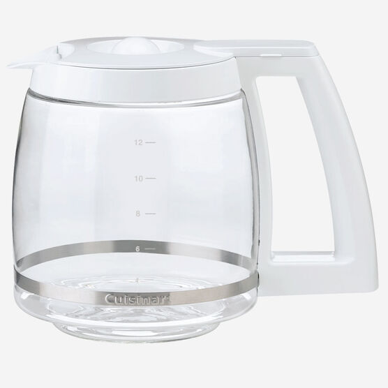 White Replacement Carafe with Lid