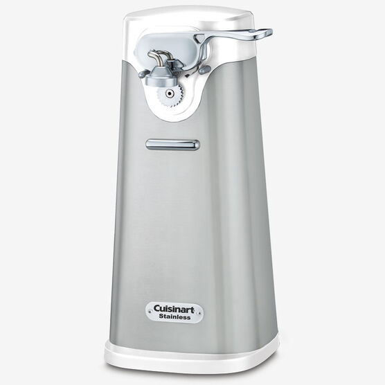 Deluxe Stainless Steel Can Opener - White
