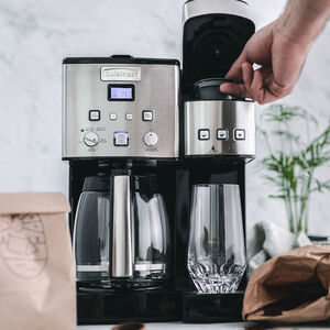 Coffee Center™ 12-Cup Coffeemaker & Single-Serve Brewer