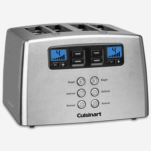 Refurbished Countdown Lever-less 4-Slice Toaster