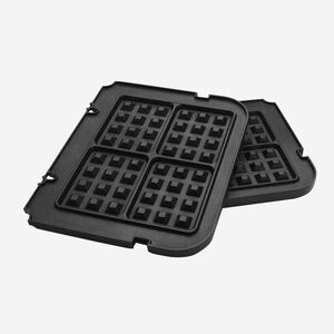 Griddler with Waffle Plates