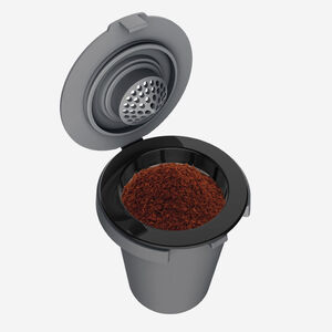 Porte-filtre réutilisable avec filtre réutilisable