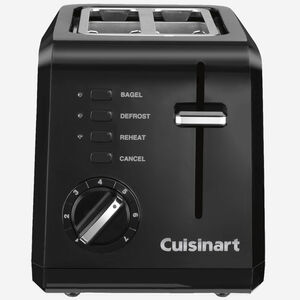 2-Slice Compact Toaster