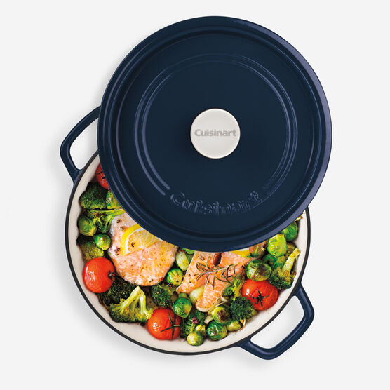 3.17 Qt Braiser with Self-Basting Cover - Blue