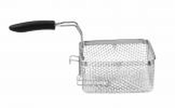BASKET W/ COLLAPSIBLE HANDLE